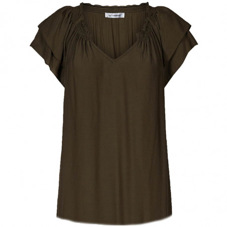 Co'Couture Blus, Sunrise, Dark Army, Co'Couture top
